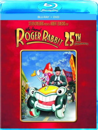 Who Framed Roger Rabbit: 25th Anniversary Edition Blu-ray Combo (Blu-ray + DVD) NEW