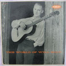 Will Holt ‎– The World Of Will Holt - 1957 - Rare  Folk, World, & Country (vinyl)