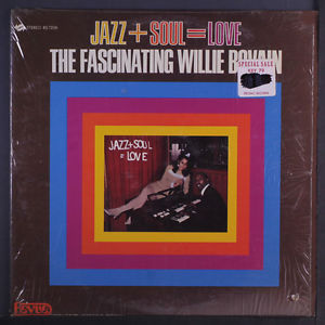 Willie Bovain ‎– Jazz + Soul = Love Soul-Jazz, Rhythm & Blues (vinyl)