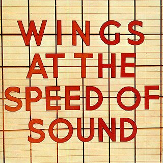 Wings ‎– Wings At The Speed Of Sound (Clearance Vinyl)