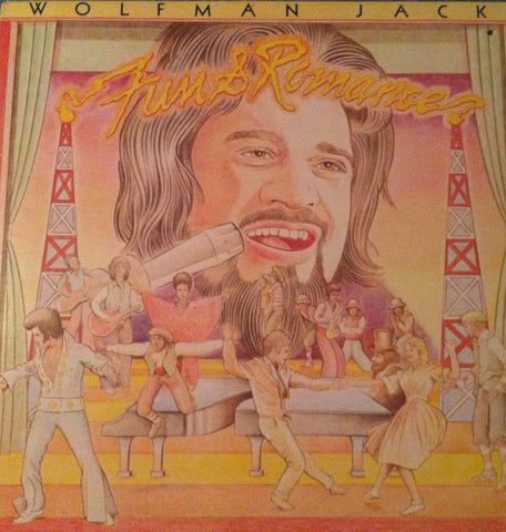 Wolfman Jack ‎– Fun & Romance -1975-  Funk, Rhythm & Blues, Rock & Roll (vinyl)