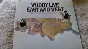 Woody Herman And The Swingin' Herd ‎– Woody Live East And West - 1967- Jazz Swing (vinyl)