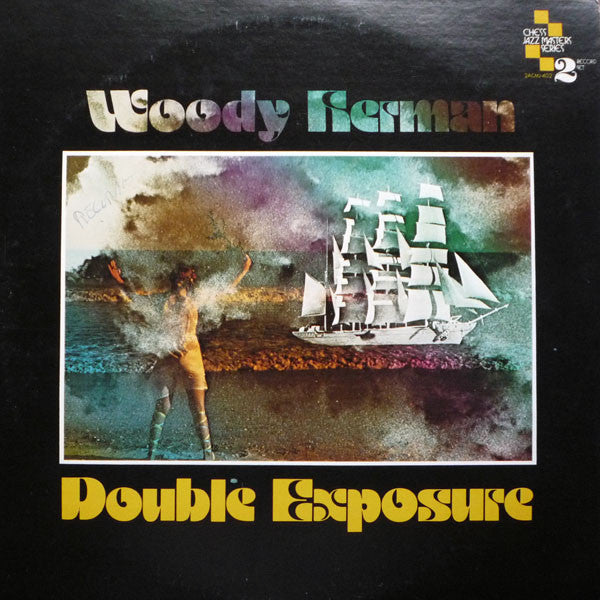 Woody Herman ‎– Double Exposure -2 lps - 1976  Soul-Jazz, Big Band (vinyl)