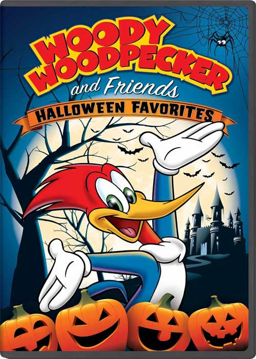 Woody Woodpecker and Friends Halloween Favorites [DVD] New Sealed