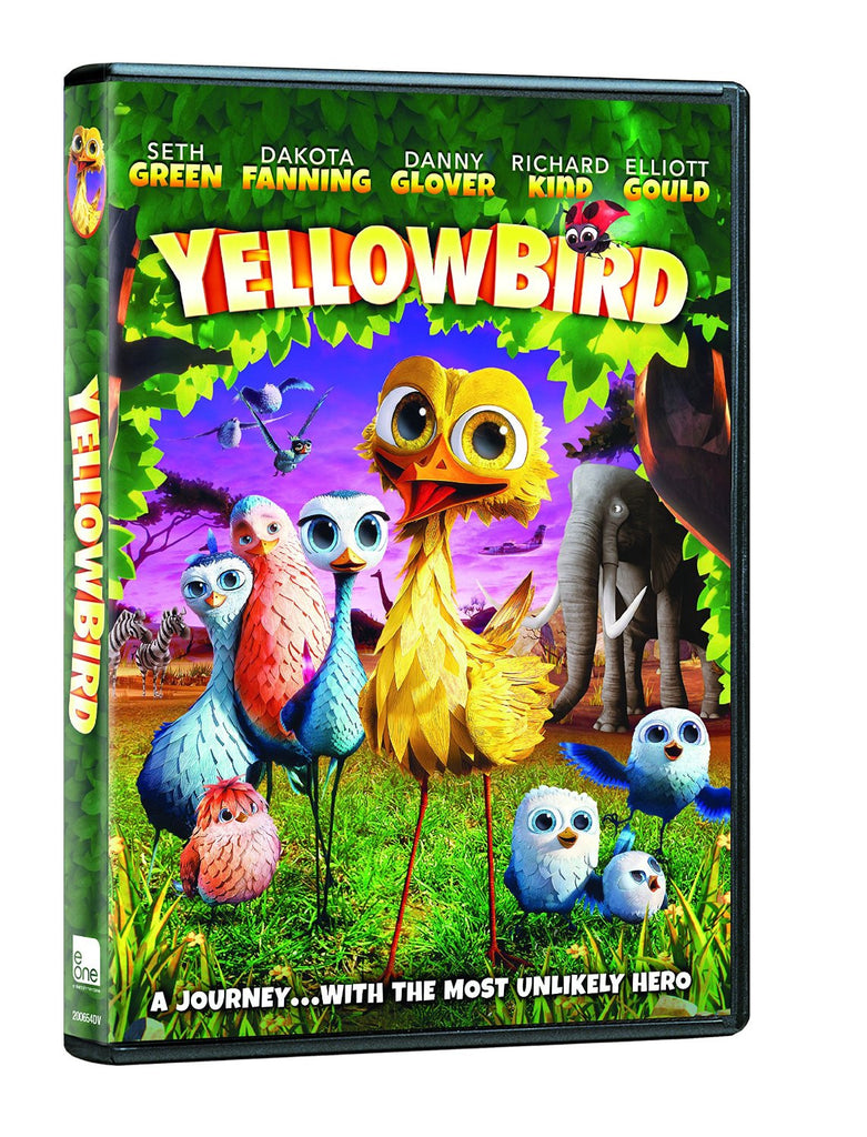 Yellowbird 2015 DVD ( new) Dakota Fanning