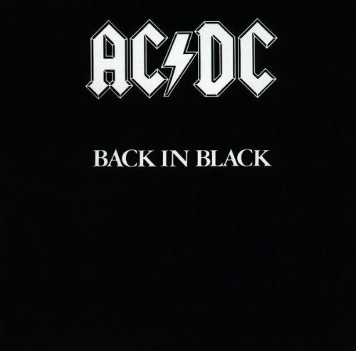 AC /DC  Back in Black (Music cd)