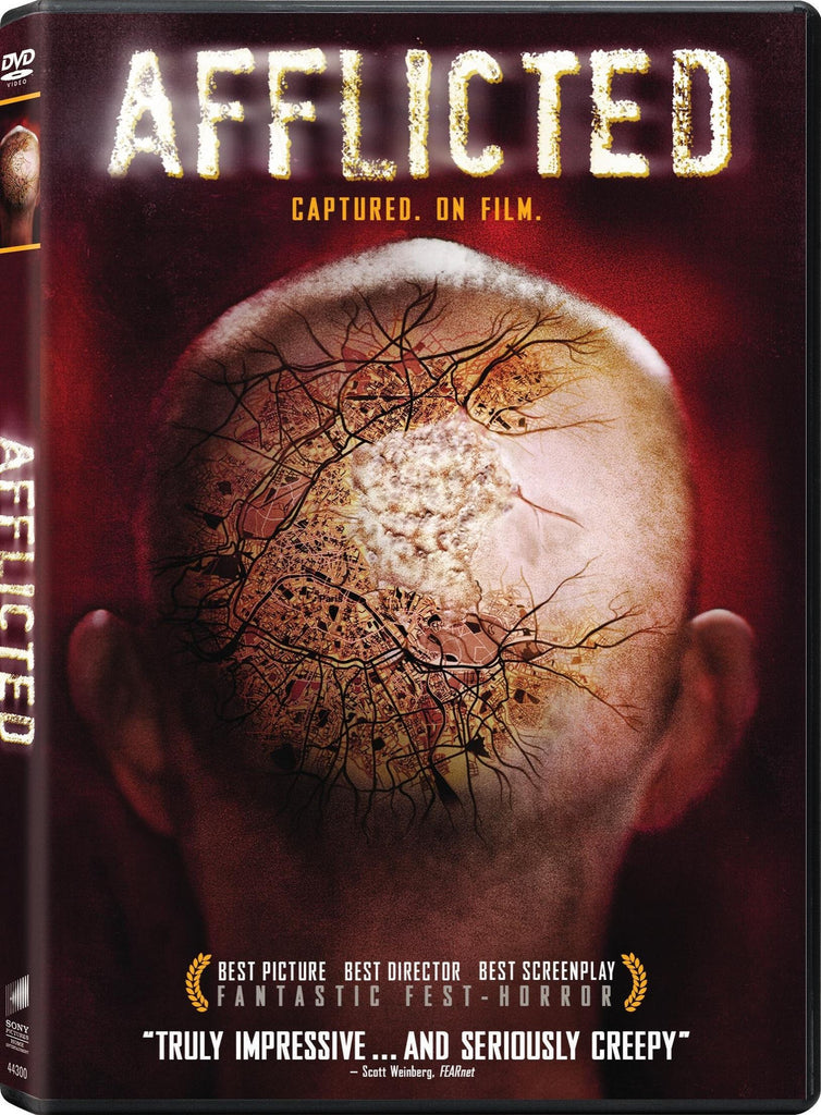 Afflicted 2014 Horror DVD - New sealed