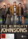 Almighty Johnsons, The - Seasons 1, 2 & 3 - Blu Ray - Mint Used