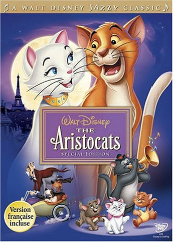 Aristocats (WideScreen) Special Edition Dvd - Mint / Used  FRENCH