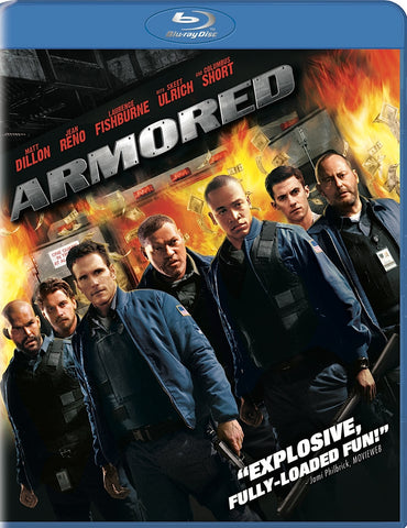 Armored [Blu-ray] (Bilingual) Mint Used