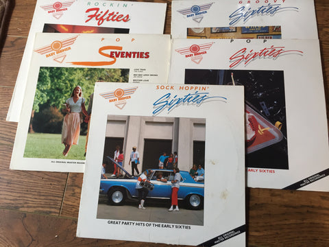 5  Baby Boomer Classics LPS - One Price - 2FER X 2+1 (Clearance vinyl)