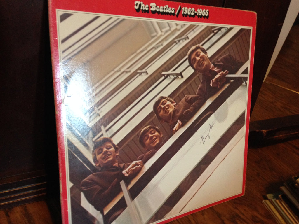 BEATLES 1962 - 1973 - 2 lps - Beat Pop Rock (vinyl) (Red Capitol Label)