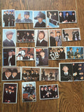 23 ~ 1964 BEATLES DIARY TRADING CARDS- Vintage ! Color !