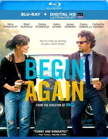 BEGIN AGAIN [Blu-ray] New Sealed