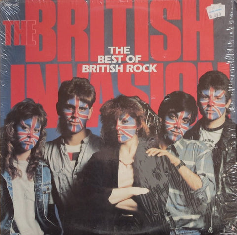 `British Invasion , The - The Best Of British Rock (various) 1987 British Rock