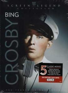 Bing Crosby Screen Legend Collection - 3 dvd set  Mint Used