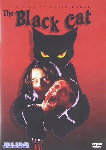 Black Cat 1981 Horror DVD