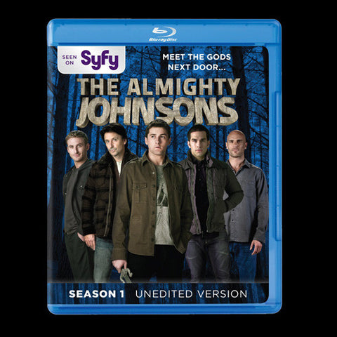 Almighty Johnsons , The : Season 1 [Blu-ray] New / Sealed