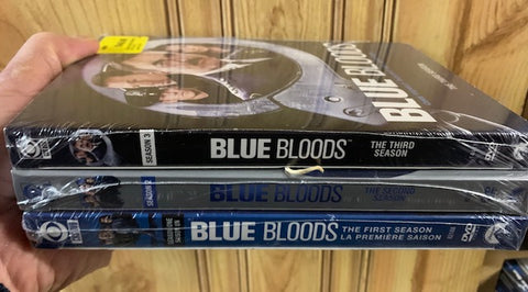 BLUE BLOODS - Season 1,2 3 DVD Sets ( All New Sealed)