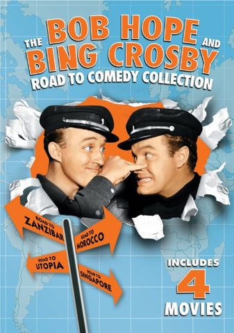 Bob Hope and Bing Crosby Road To Comedy Collection - 2 dvd set ( Universal )