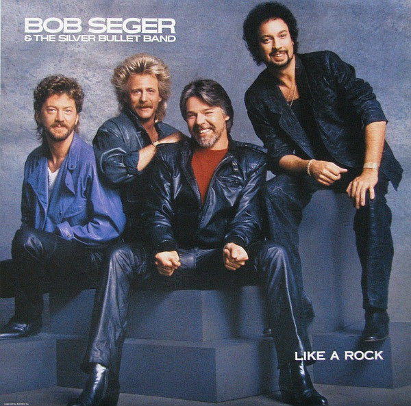 Copy of Bob Seger & The Silver Bullet Band, Like A Rock -1986 Classic Rock (clearance vinyl) *Overstocked