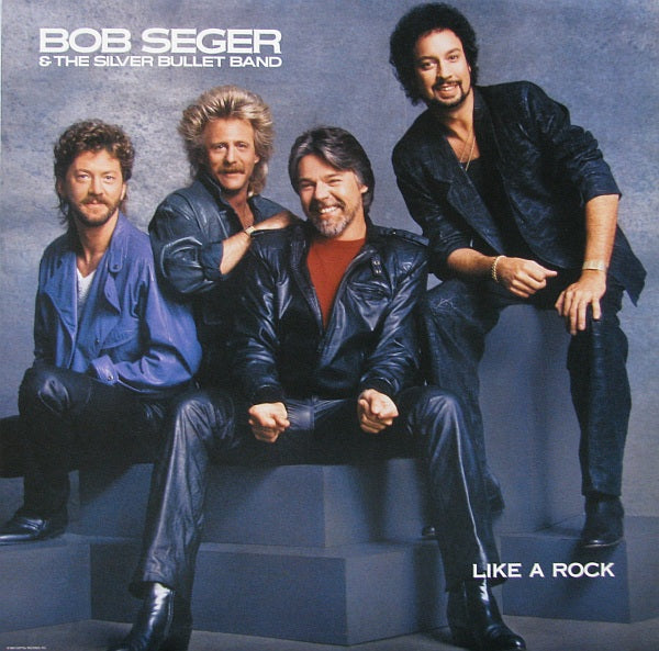Bob Seger & The Silver Bullet Band, Like A Rock -1986 Classic Rock (vinyl)