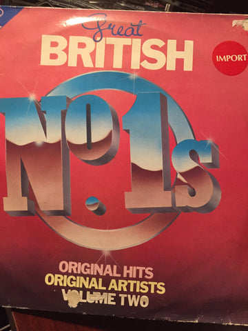 Great British No.1's Volume 2 ( various ) 2 lps 1982 (vinyl)