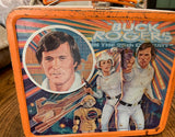 RARE VINTAGE LUNCH BOX WITH THERMOS BUCK ROGERS IN THE 25th CENTURY 1979 ALADDIN