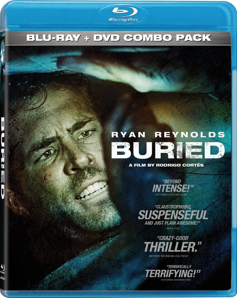 Buried / Enterrè [Blu-ray + DVD] Mint Used