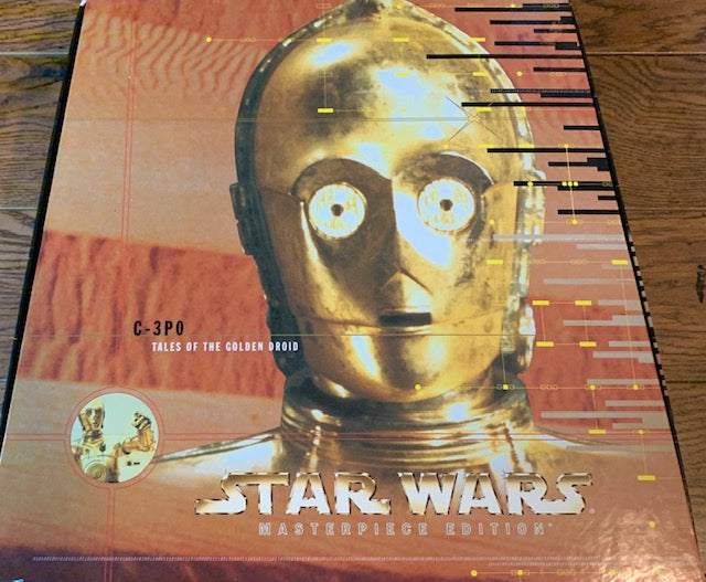 VINTAGE-NIB 1999 STAR WARS C-3PO TALES OF THE GOLDEN DROID MASTERPIECE EDITION