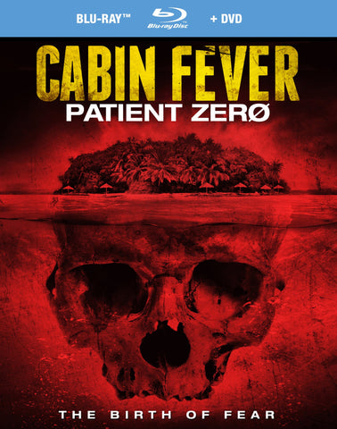 Cabin Fever Patient Zero BD+DVD [Blu-ray] New/Sealed