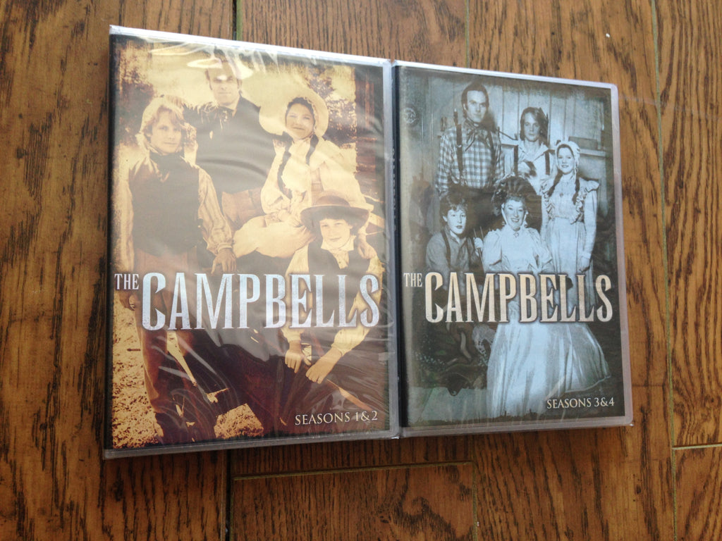 Campbells , The - Seasons 1, 2 3 ,4 on DVD - The Complete Series New Sealed -