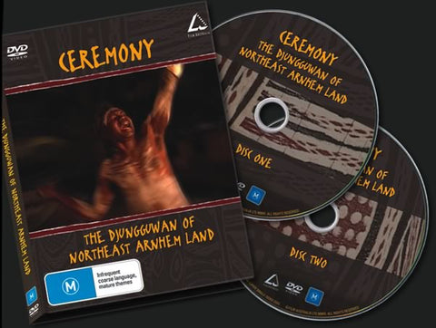 Ceremony the Djungguwan of Northeast Arnhem Land - 2 DVD Set - New