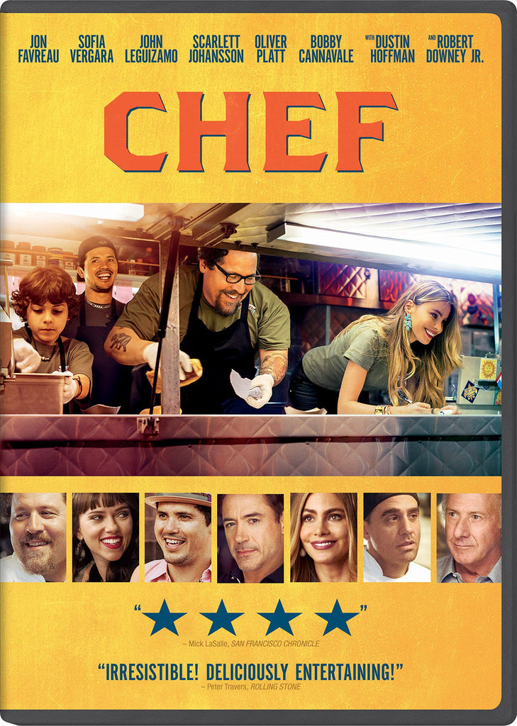 Chef (2014 DVD - Jon Favreau - Mint Used