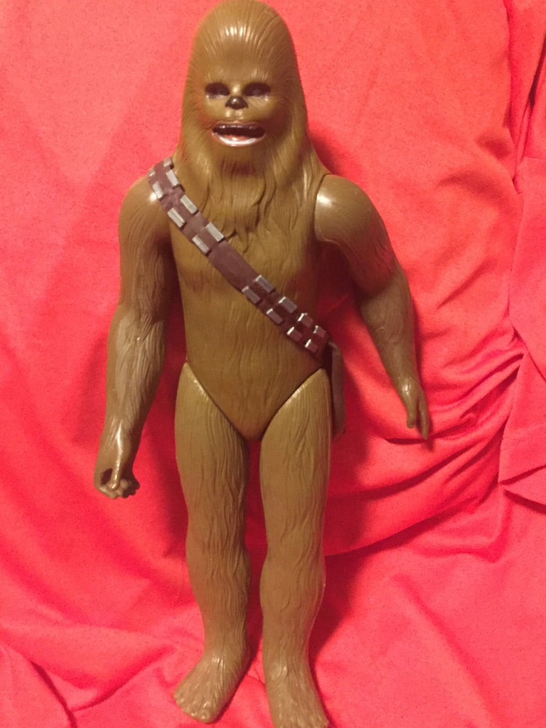 "STAR WARS 1978 - 15"" Kenner GMFGI Chewbacca Action Figure Doll made in Korea"