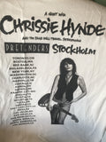 Chrissie Hynde with the Pretenders - Stokholme - T shirt - (white) M