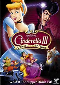 Cinderella III: A Twist in Time dvd Used