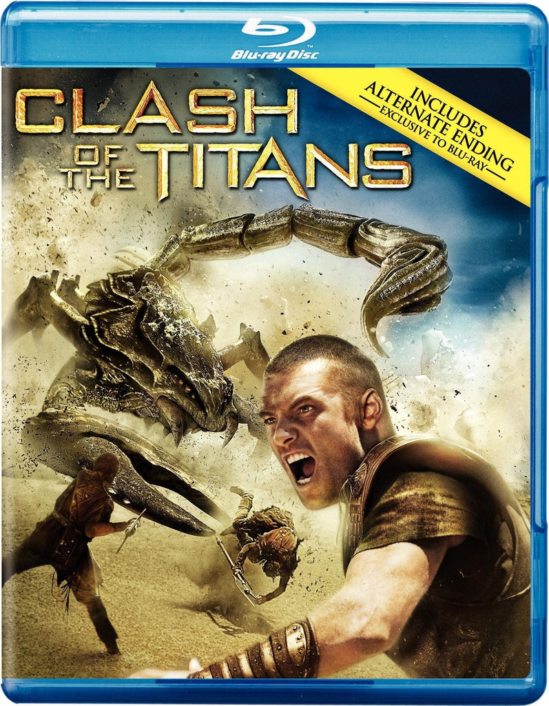 Clash of the Titans Blu-ray Mint Used