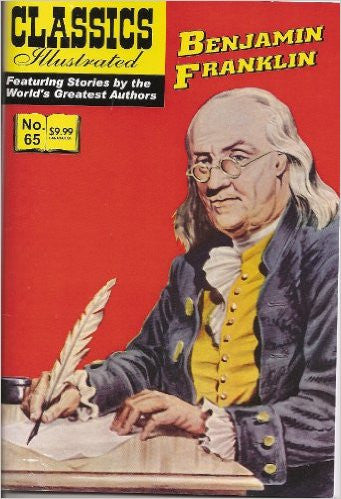 Benjamin Franklin (Classics Illustrated, 65) Comic – 1969