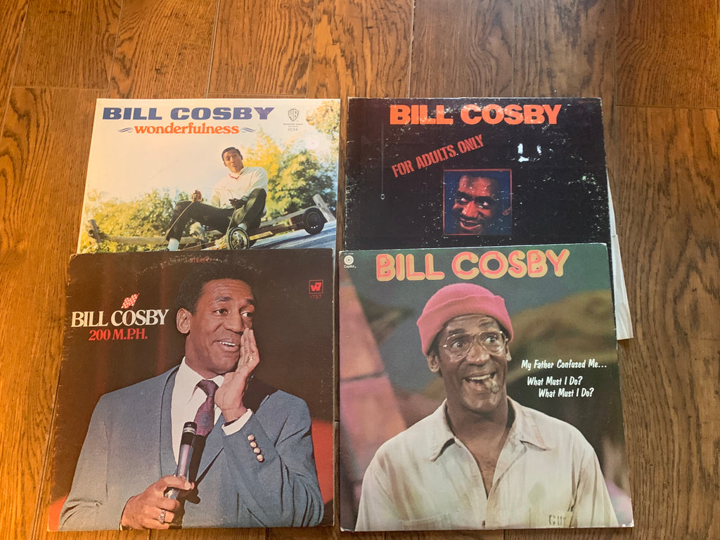 LOT SALE - 11 Bill Cosby Comedy Albums (One Price)