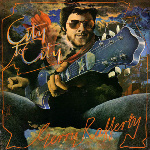 Gerry Rafferty ‎– City To City -1978-pop rock( Clearance Vinyl ) marks on vinyl