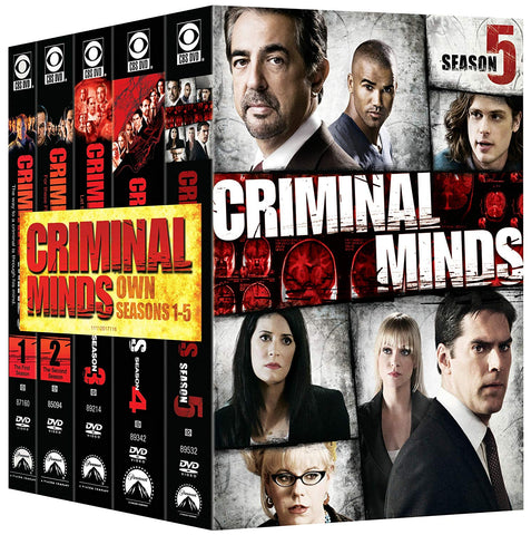 Criminal Minds: The Complete Seasons 1 - 5 (used)