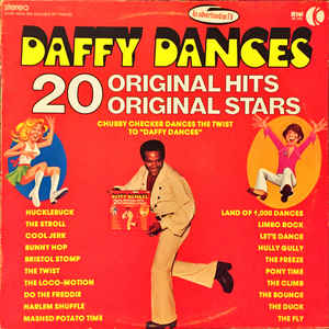 Daffy Dances - 1975 - Chubby Checker ,Cannibal & The Headhunters, Freddie & The Dreamers + (vinyl)