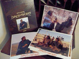 Kevin Costner Dances with Wolves Limited Collectors Edition VHS Sleeved Box Set. 2 VHS & 4 prints