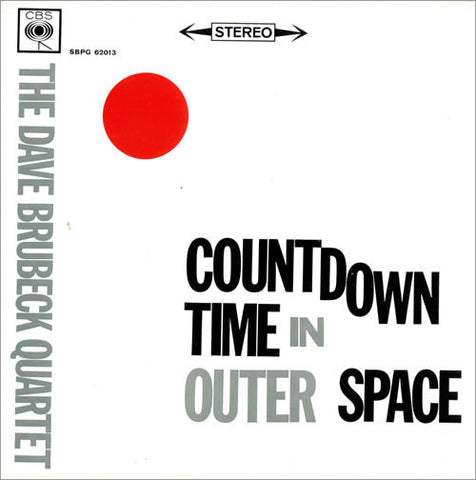 Dave Brubeck Quartet ‎– Countdown Time In Outer Space - 1962 Jazz ( UK vinyl)