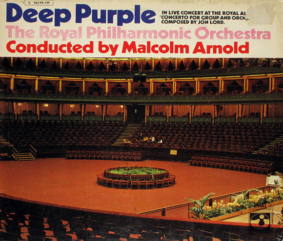 Deep Purple and the Royal Philharmonic Orchestra 1970 LP