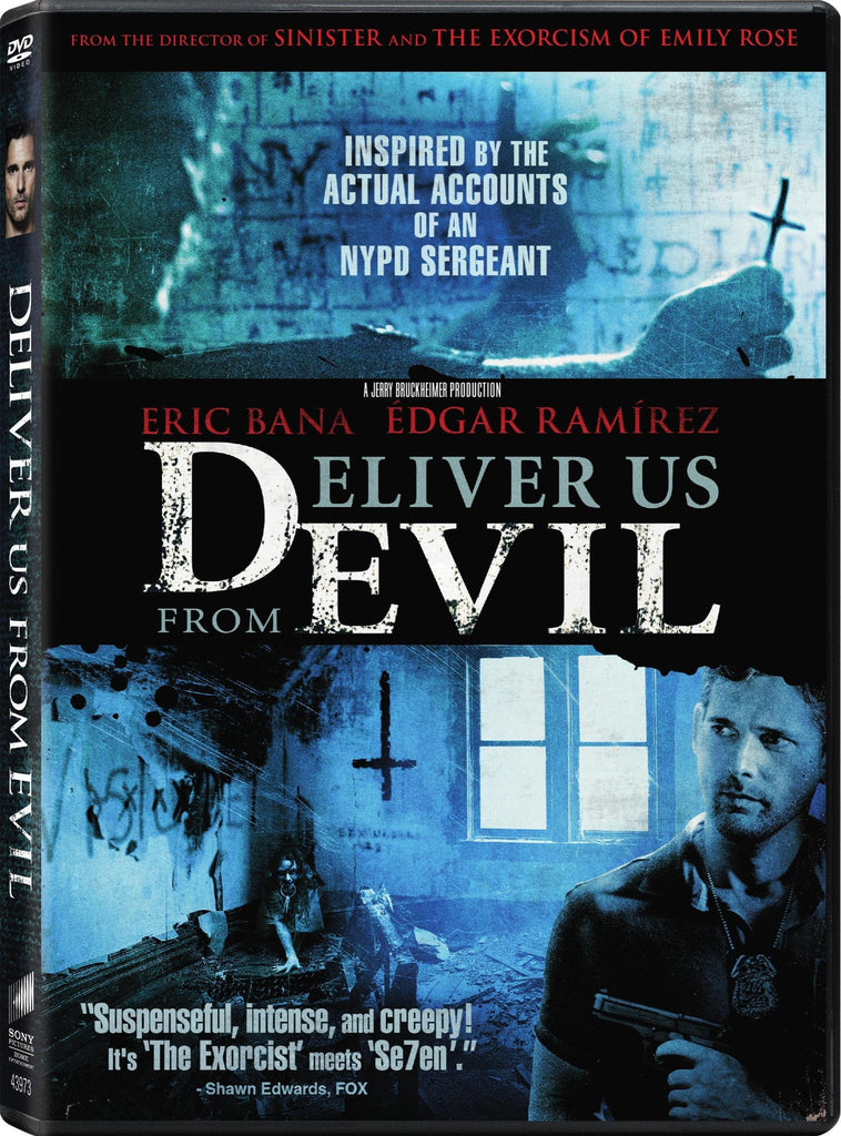 Deliver Us From Evil (Bilingual) 2014 DVD - New Sealed