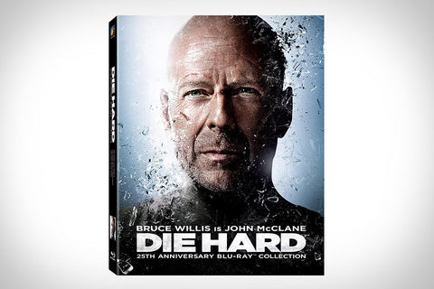Die Hard 25th Anniversary Collection (Die Hard / Die Hard 2: Die Harder / Die Hard with a Vengeance / Live Free or Die Hard + Bonus Disc) [Blu-ray]