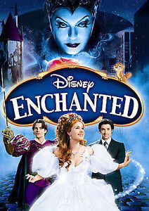Enchanted (Widescreen) (English version) dvd used / mint