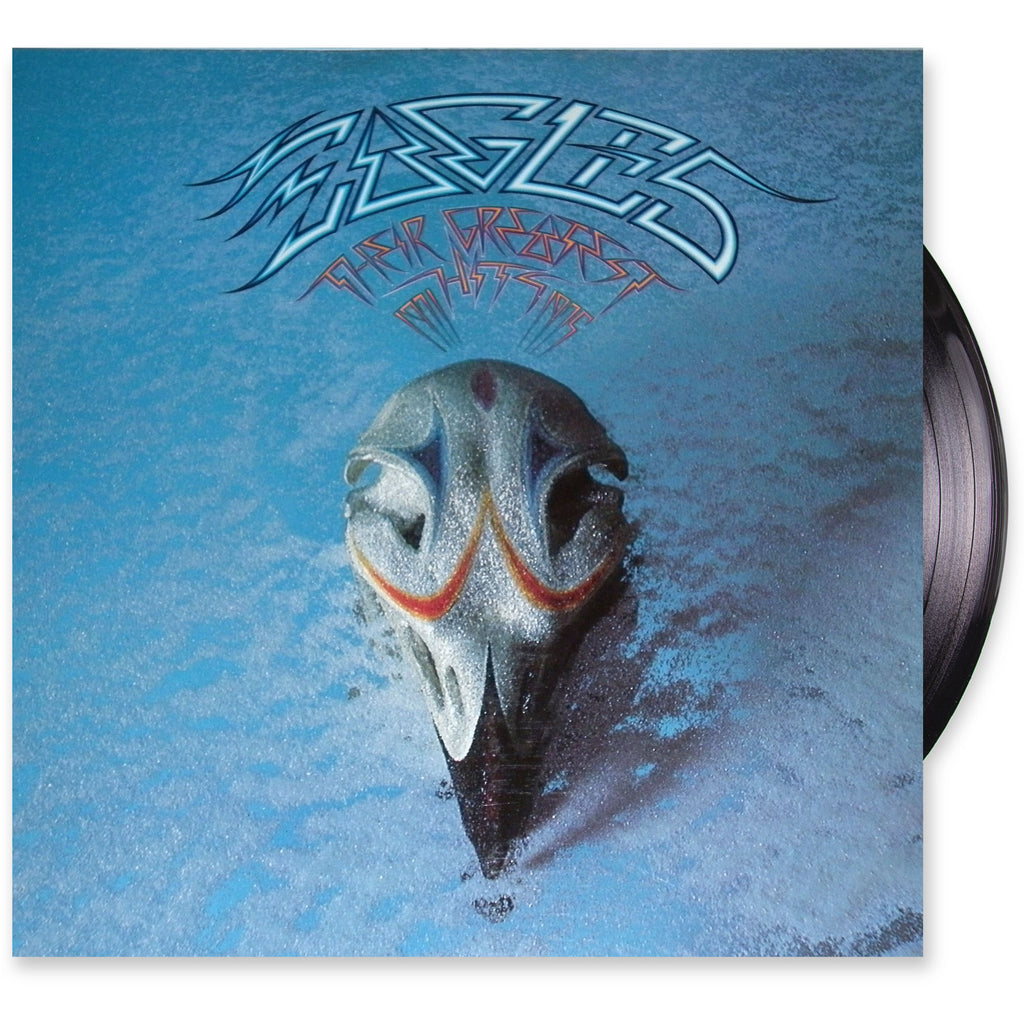 Eagles: Their Greatest Hits 1976 Classic Rock (clearance vinyl) lots of marks - NO COVER